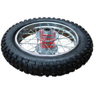 12 Rear Rim Wheel Honda XR50 CRF50 70cc 110cc 125cc Dirt Pit Bike