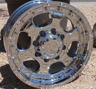 17 inch Chrome Rims Chevy 2500 Silverado Sierra Dodge RAM H2 Truck 8