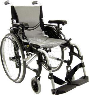 Karman S305 Lite Wheelchair Quick Release Wheels 18x17 29 lb NEW