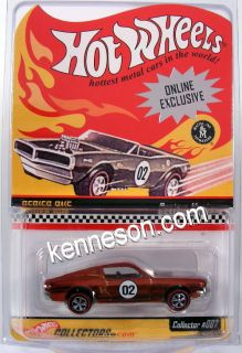 Custom Mustang Hot Wheels RLC Redline Series One 007