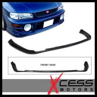 97 01 Subaru Impreza WRX STI Style PU Front Bumper Lip