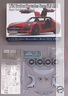 BRABUS MULTI MEDIA TRANSKIT for REVELL 1/24 MERCEDES SLS AMG (#80 7100