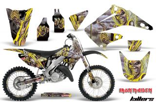 MX BACKGROUND DECO STICKER KIT HONDA CR 125 250 R 02 12 IRON MAIDEN K