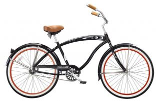 New 26 Beach Aluminum Frame Cruiser Bicycle Bike Rover