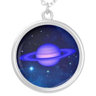 Blue Ringed Planet Custom Jewelry
