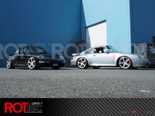 ROTtec 19 wheels Porsche RUFF style rims, 993, 911, 996, 997, Turbo