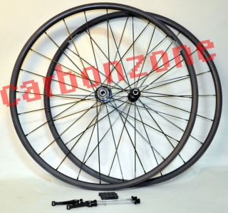 700c Full Carbon Road TT Bike Tubular Wheels Bicycle Wheelsets