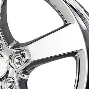 New 20x9 5x120 Replica Camaro SS Chrome Wheels Rims