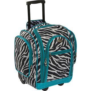 American Flyer Animal Print Carry on Organizer Zebra
