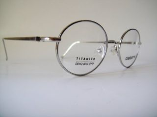 Liz Claiborne Titanium Eyeglasses Frames Spectacles Round Vintage