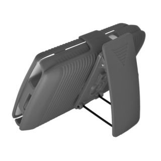 For Rim Blackberry Torch 9800 9810 Hard Case Holster Belt Clip w Stand