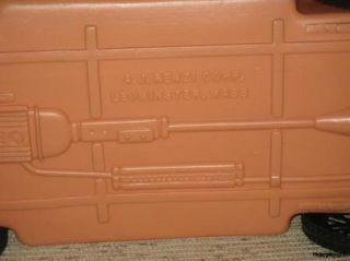 Vintage Salmon Color Barbie or Fashion Doll Type 2 Seater Convertible