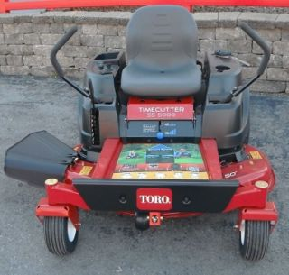 New 50 Toro Timecutter 21 5HP Kawasaki Engine Zero Turn Lawn Mower