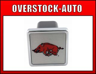 Pilot 2 inch College Trailer Hitch Cover Arkansas Razorbacks NCAA Logo