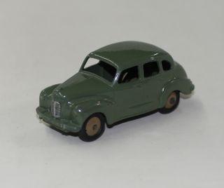Dinky Toys 40D 152 Austin Devon Olive Green Tan Wheels 2nd Baseplate