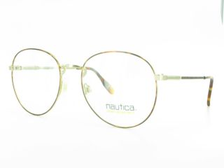 Large Round Nautica J6 Eyeglasses Mens or Womens Designer Frames