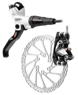 CR Mountain Bike Disc Brake Front 160 White Black x9 x 9 Carbon