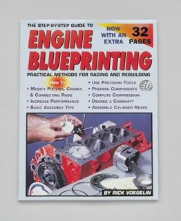 Book The Step by Step Guide to Engine Blueprinting 160 Pages Ea