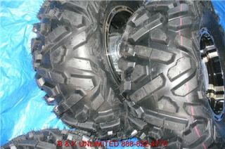Polaris Ranger RZR 4 26 Trilobite ATV Tires 4 Alloy Wheels New
