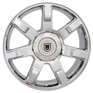 20 Chrome Escalade 7 Spoke Style Wheels Fit Cadillac