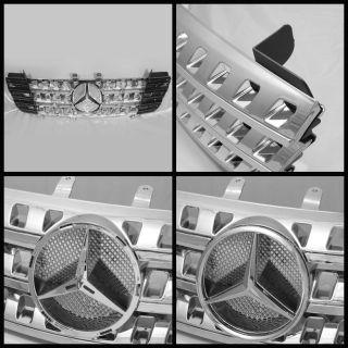 2006 2008 Mercedes Benz W164 ml Class Grille Emblem Chrome Replacement