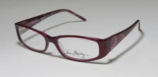 New Vera Bradley 3023 52 16 130 Purple Pink Brown Eyeglasses Frames