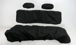 Moose Racing Seat Cover Black PRBS09 11 Polaris Ranger XP 700 2009