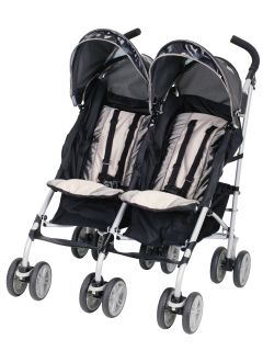 Graco Twin IPO Double Baby Stroller Platinum