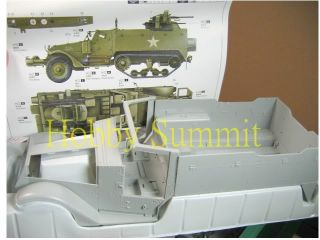Trumpeter 1 16 WWII US Army Multi Gun M16 Half Track Tank Armored