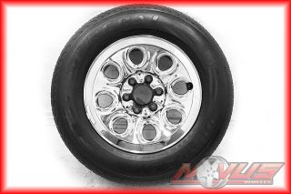 17 Chevy Silverado Tahoe GMC Sierra Yukon Chrome Wheels General Tires