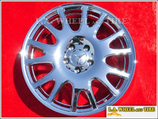 of 4 New 18 Mercedes Benz SLK280 OEM Chrome Factory Wheels Rims 65490