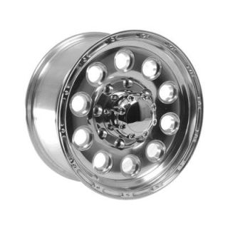Summit Racing 185 6881P Wheel, 185 Series, Aluminum, Polished, 16 in