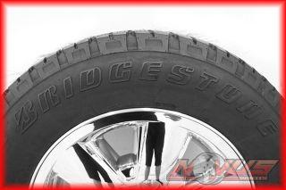Chevy Tahoe Silverado Z71 Chrome Wheels Bridgestone Tires 20