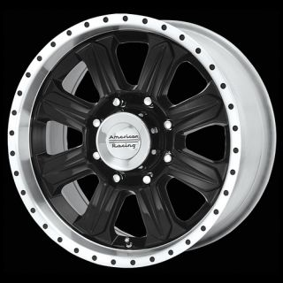 Ford Excursion F250 350 Superduty Black 20 Wheels Rims