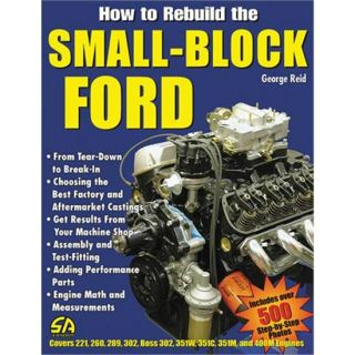 New How to Rebuild The Small Block Ford Book 144 Pages