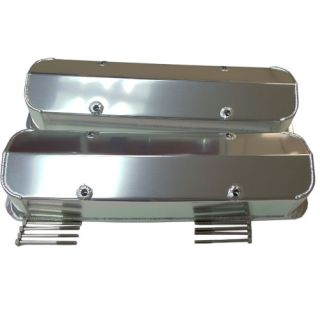SBC Small Block Chevy 86 Tall Fabricated Aluminum Valve Covers SB V8