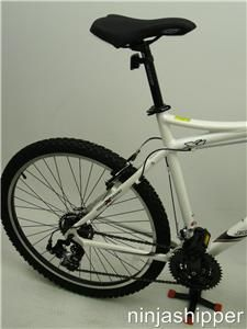 2011 Jamis Trail X1   Mountain Bike   21   Pearl White   New