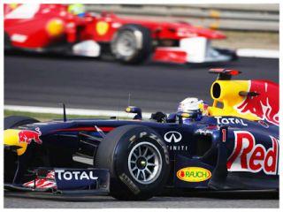 10 2011 F1 Red Bull RB7 RC Body for Tamiya F104 Car