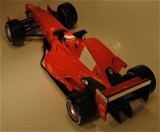 2001 Ferrari F2001 1 Michael Schumacher Red Mattel 2