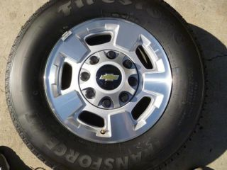 Chevy 2500 HD Wheels and Tires
