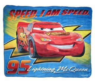 Disney Cars Lightning McQueen Kids Fleece Throw Blanket