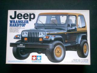 Tamiya 1 24 Scale Jeep Wrangler Renegade Hardtop 95 YJ
