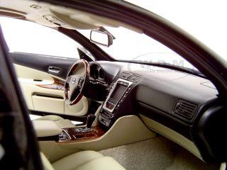 2006 Lexus GS 430 GS430 Black 1 18 Autoart Diecast Car