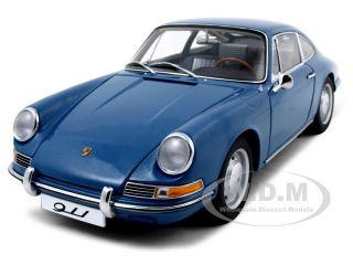 1964 Porsche 911 Coupe Blue 1 18 Diecast Model Car by Autoart 77913