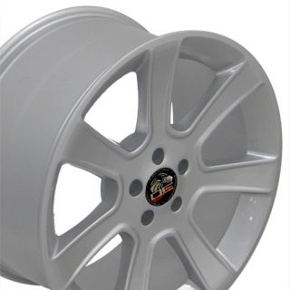 20x10 Rear Silver Saleen Wheels Rims Fit Mustang®