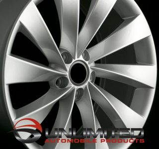 19 VW Turbine Style Silver Wheels Rims Fit Audi A3 A6 C6 TT MKII