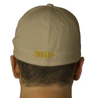 OSHP OHIO STATE HIGHWAY PATROL MONOGRAM EMBROIDERED BASEBALL CAP