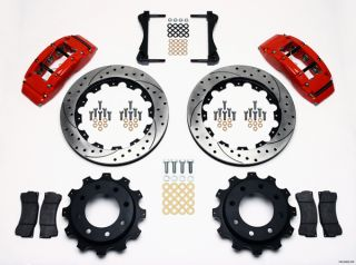 Wilwood Disc Brake Kit Chevy Avalanche 2500 4 63 Red 16