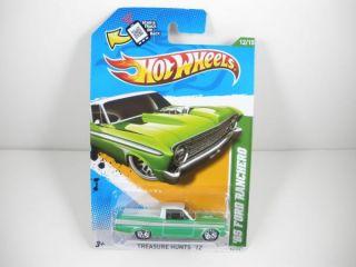 2012 Hot Wheels Treasure Hunt 65 Ford Ranchero 12