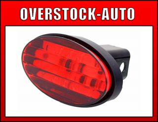 Bully CR017 Hitch Receiver Cover Oval LED Brake Light